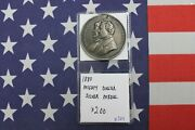 1880 Mighty Dollar Silver Medal - Holed And Repaired - Rare X309