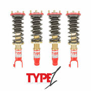 For 94-01 Acura Integra Dc 2 Type 1 Function And Form Full Adjustable Coilovers