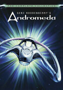 Gene Roddenberryand039s Andromeda The Complete Collection [new Dvd] Boxed
