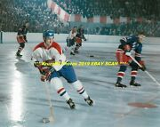 Jc Tremblay Circles Back With Puck Vs Rangers At Old Msg 8x10 Montreal Canadiens