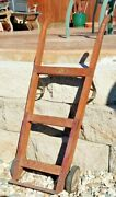 Awesome Rare Vintage Wooden Hand Truck Salesman Sample Realistic 29