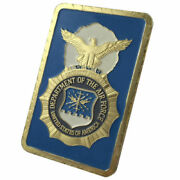 U.s. United States Air Force Usaf | Security Police | 1 Oz Gold Plated Bar