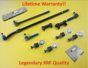 Xrf F150 Bronco Inner Outer Tie Rod End Upper Lower Ball Joint Lifetime Warranty