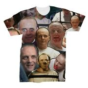 Hannibal Lecter Photo Collage T-shirt