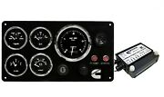 Cummins Marine Instrument Panel With Nmea 2000 Engine Data Converter