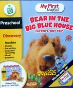 My First Leap Pad Bear In The Big Blue House Interactive Book New Preschool Frog