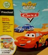 Disney Cars My First Leap Pad Interactive Book New Preschool Frog Factory Sealed