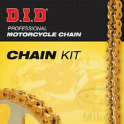 Did X-ring Gold 530zvmx Chain And Jt Sprocket Kit 17/45 Yamaha Fz1 1000 N 2009