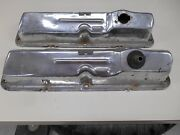 Ford Fe 428 390 Pent Roof Chrome Valve Covers 427 410 406 360 352 Oem