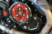 Cnc Racing Clear Clutch Cover Oil Bath 4 Col For Ducati Monster 1200 /r/s 15-21