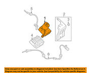 Volvo Oem 06-07 V70-abs Pump And Motor Assy 30793491