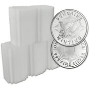 100-pc. 1 Oz. Silver Round - Sunshine Minting - .999 Lot Rolls 5 Tubes Of 20