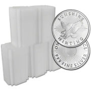 100-pc. 1 Oz. Silver Round - Sunshine Minting - .999 Lot, Rolls, 5 Tubes Of 20