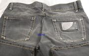 750 Love Moschino Men Jeans 32 Zigzag Stitch Business Casual Stylish Gift New