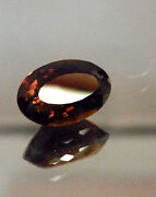 Large Natural Earth-mined Honey Brown Tourmaline...quality Gem....8.4 Carat