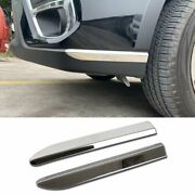 Fit For Subaru New Forester 2019 Front Bumper Corner Edge Protection Cover Trims