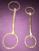 Antique Iron Rusted Horse Bits