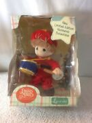 New Limited Edition 2000 Precious Moments Baby Collection Little Drum Boy Luv N
