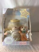 New Limited Edition 2000 Precious Moments Baby Collection Doll Ange W/teddy Bear