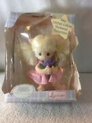 New Limited Edition 2000 Precious Moments Baby Collection Doll Ballerina W/flowe