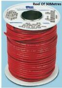 Alpha Wire Orange Hook Up Wire 2.08 Mmandsup2 Csa 600 V 33 A 30m- New -3079or005