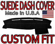Fits 2004-2008 Ford F150 Suede Dash Cover Mat Dashboard Pad / Black