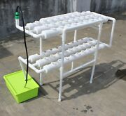 Hydroponic 54 Plant Growing System For Fresh Produce Herb Plants Flowers