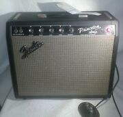 1966 Fender Princeton Combo Ampaa964 Usa Reverb/standby 60s Mod+pedalandcover