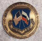 Authentic Strategic Arms Reduction Treaty Hill Afb Start Cold War Challenge Coin