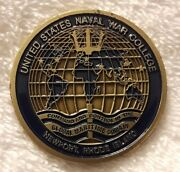 Authentic Us Naval War College Usnwc Jfmcc Flag Course Rare Challenge Coin