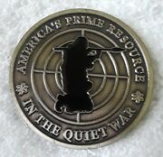 Authentic Orion Center Resourcing Silent Weapons For Quiet War Challenge Coin