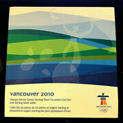 2010 Olympic Winter Games • 92.5 Silver Uncirculated • Circulation Coin Set