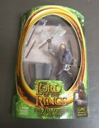 Gimli With Battle Axe Swinging Action Lord Of The Rings Toybiz Fotr Moc Gv