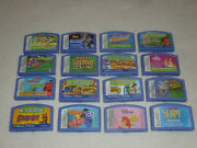 Leap Frog Leapster Learning Game Lot Disney Princesses Toy Story 3 Scooby Nemo