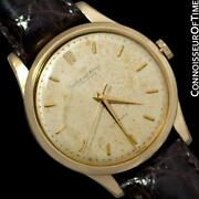 1961 Vintage Mens Watch Cal. 853 Automatic - 18k Gold Filled - Warranty