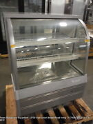 Turbo Air Tcgb-36-2 36 1/2 Refrigerated Curved Glass Bakery Display Show Case