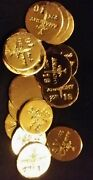 3 1 Gram Bar Usa Bullion 1g 22k Placer Gold Rounds From Mine Y Lot 206 Anarchy