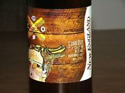 New England Brewing Nebco Limited Edition Combover Saison Empty 22oz Beer Bottle