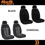1 Row Custom Supreme Velour Seat Cover For Jeep Patriot 14-on Sport