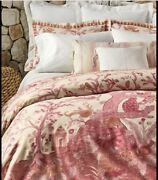 Analena Queen Size 9pc Duvet Cover Set Incs Euros And Sheet Set