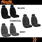 1 Row Custom Platinum Velour Seat Cover For Land Rover Discovery Sport 16-on