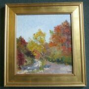 Artist Karl Buehr Oil Painting A Well Listed Chicago Artist 1866-1952 Estate