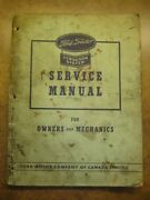Vintage Ford Tractor Ferguson System Service Manual For Owners And Mechanics 1943