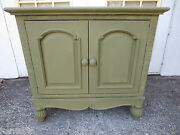 Bachelor Chest Tll Nightstand Cabinet Wicker Rattan Hollywood Regency Palm Beach
