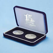 Tokyo Disney Sea 15th Anniversary Of Sterling Silver Commemorative Medal Set Sil