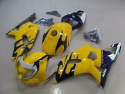 New Fairings + Tank Cover + Bolts Set For Gsxr600 Gsxr750 2001-2003 04