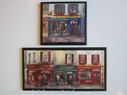 Paris French Street Bistro Cafe Signs 2 Plaques Kitchen Bath Bedroom Wall Decor