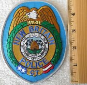 New Britain Connecticut Police Patch Sheriff Highway Patrol Ems