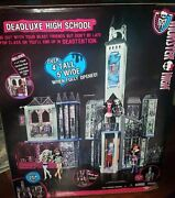 Monster High Deadluxe High School Playset Deluxe Spooky Doll House By Mattel