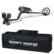 Bounty Hunter Lstar Land Star Metal Detector With Carrying Bag
